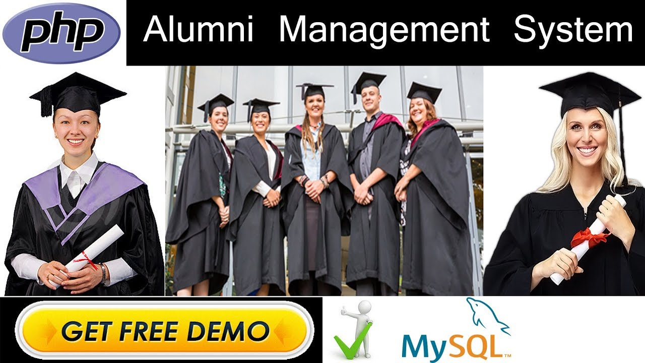 Alumni Tracking Management System Project in PHP | MYSQLI | HTML | CSS |  JAVASCRIPT | BOOTSTRAP