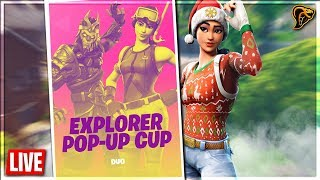 SOLO POP UP CUP!! / FORTNITE BATTLE ROYALE NEDERLANDS