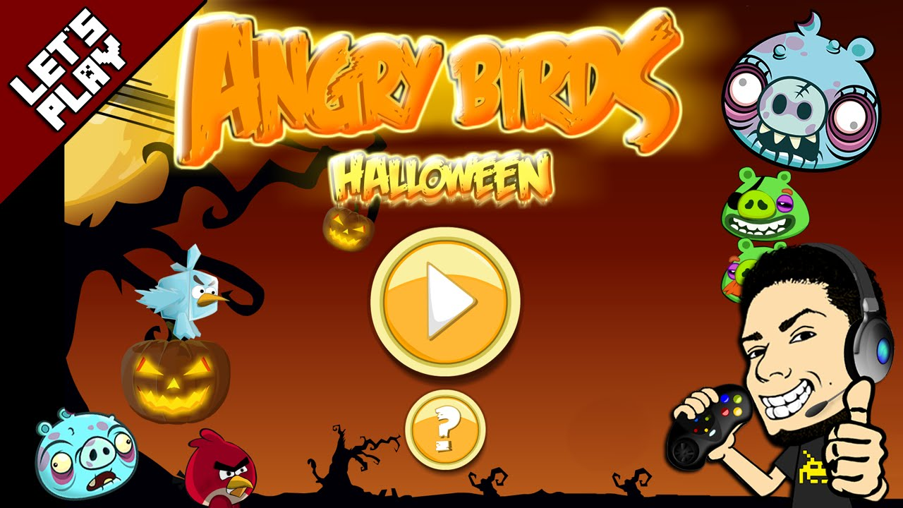 Halloween Adventure.Angry Birds Halloween Adventure Gameplay Walkthrough Juniors Toons