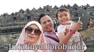 INDAHNYA BOROBUDUR |#akramadabi #akramandfamily