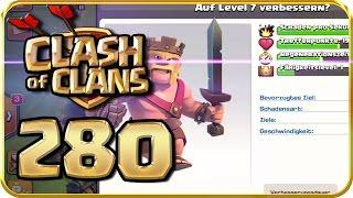 Let's Play CLASH of CLANS Part 280: Nächste Barbarenkönig-Verbesserung