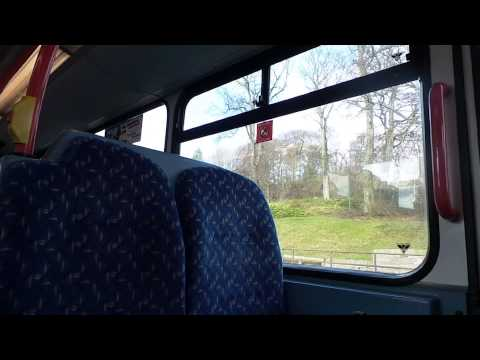 Route 28 National Express Dundee Volvo B7TL Wright Eclipse Gemini 7008 (SP54 CHO)