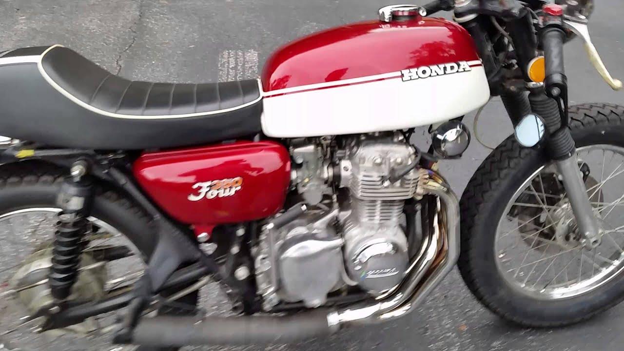 1972 Honda CB350F Cafe Racer