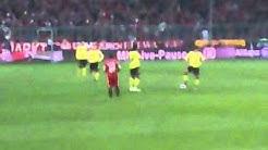 Bayern vs. Dortmund Anstoß 26.2.2011