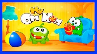 АМ НЯМ НОВЫЕ СЕРИИ #5. АМ НЯМ МОЙ ВИРТУАЛЬНЫЙ ПИТОМЕЦ - мультик игра видео для детей про монстриков.