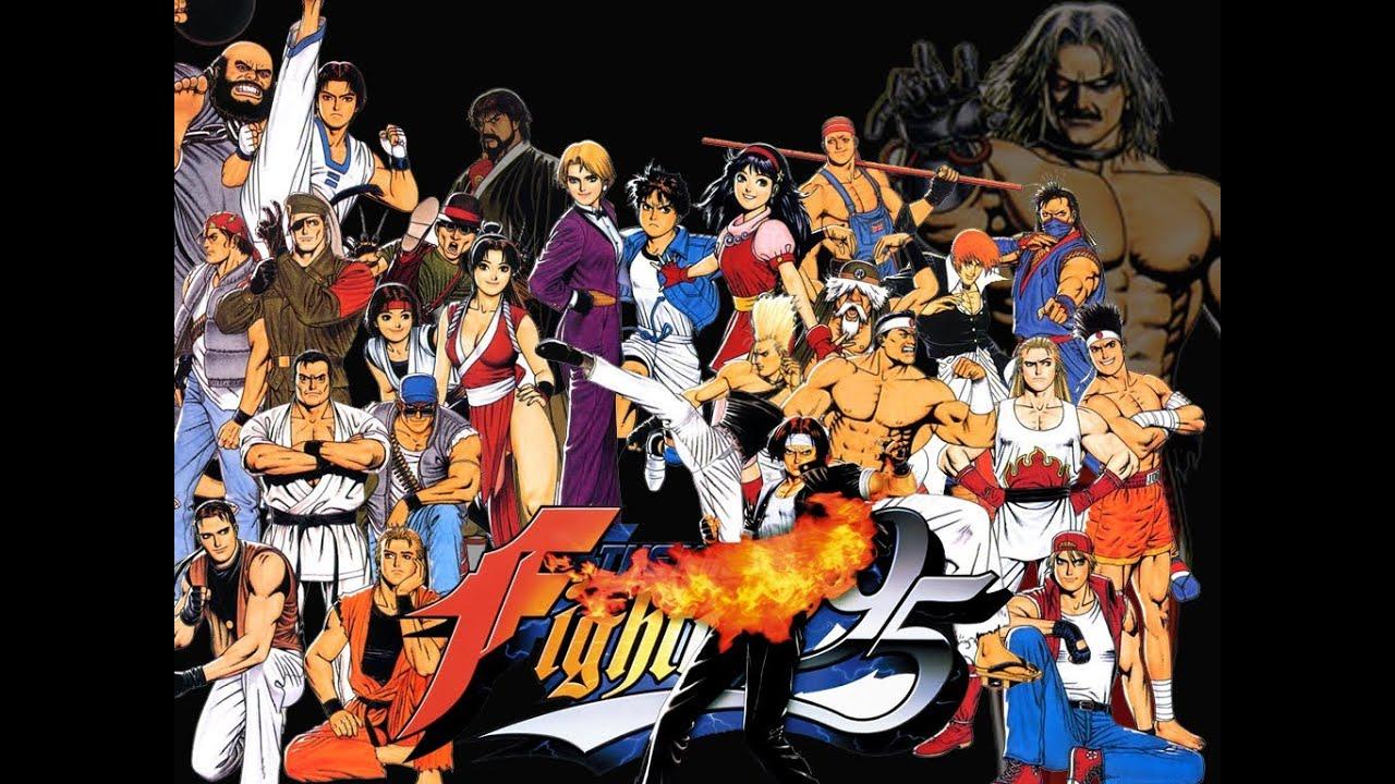 어린시절 개빡치게 했던 중간보스 - 쿠사나기 사이슈 (KOF 95 / 더 킹 오브 파이터즈 '95)