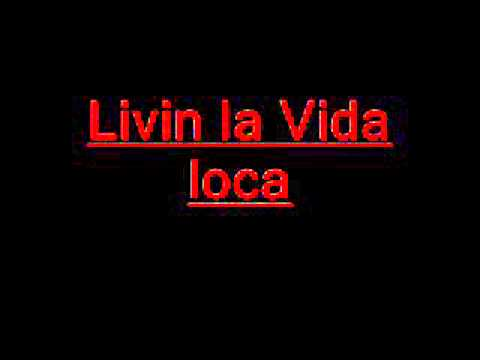 La Vida Loca (Song From Shrek 2) Lyrics