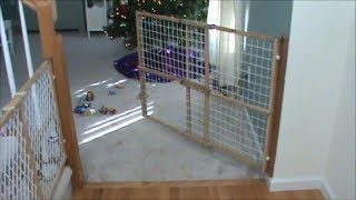 Swinging Child Fence Or Dog Gate