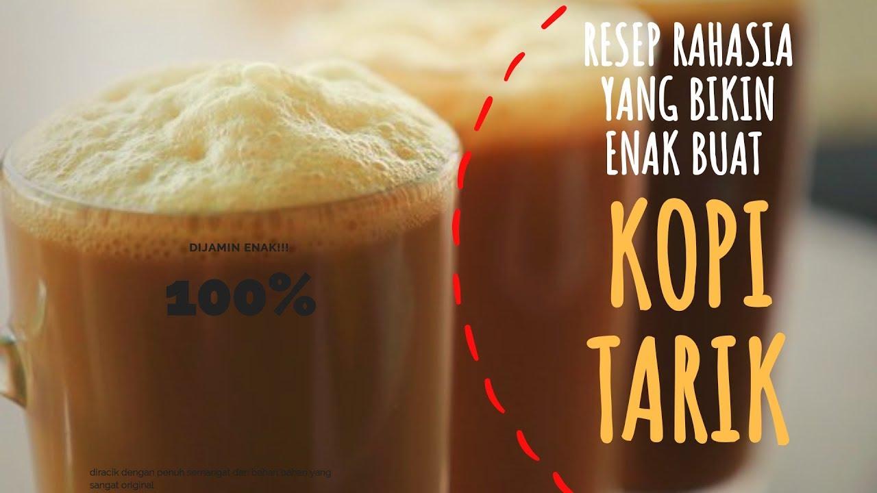 Cara bikin kopi tarik |resep sendiri ditempat kerja cafe loewe - YouTube