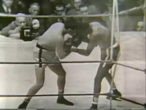 Rocky Graziano KO 7 Gene Burton