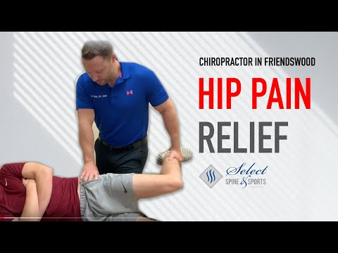 BEST Hip Treatment For Baseball Player | Chiropractor Friendswood