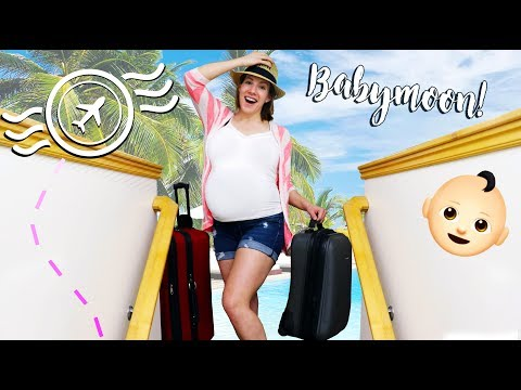 Vacation Before The Baby Is Here! - Getting Ready For The Babymoon!