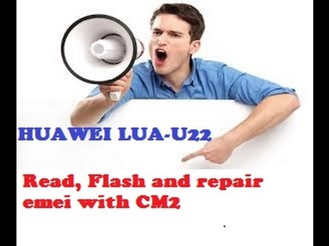 Read , Flash and repair huawei lua - u22 with chinese miracle 2