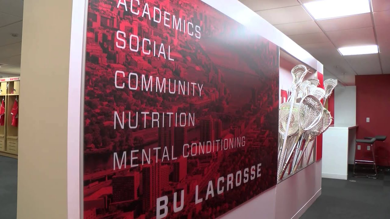 High Point Lacrosse >> BU Men's Lacrosse - Charley Lax Locker Room - YouTube
