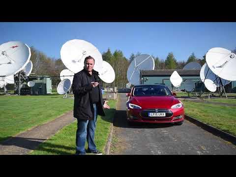 Tesla Model S Summon - the self driving car!