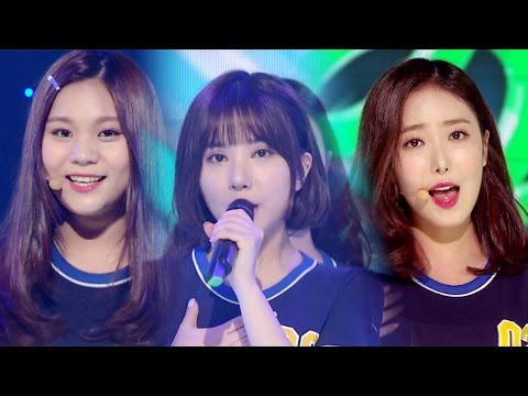 """""""Comeback Special"""" GFRIEND (Pacar) - Gone With The Wind @ Inkigayo 20160717"""