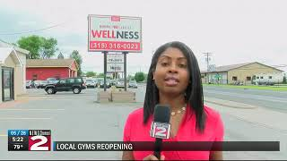 two local gyms reopen