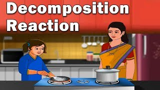 Decomposition Reaction #HomeRevise #kids #education #science #learn