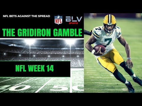 NFL Picks Against The Spread Week 14 | The Gridiron Gamble NFL Betting Show