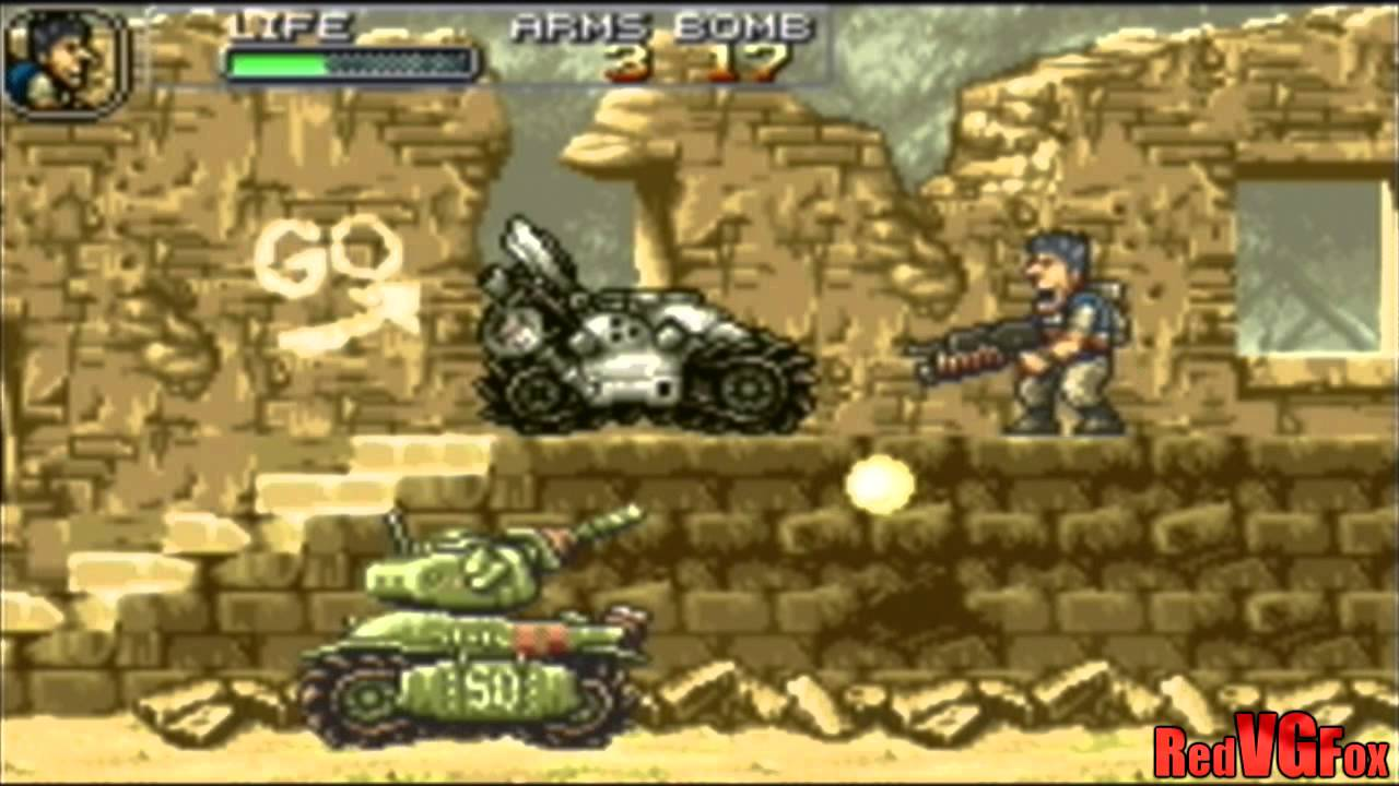 Metal Slug Advance - Mission 1 [GBA]