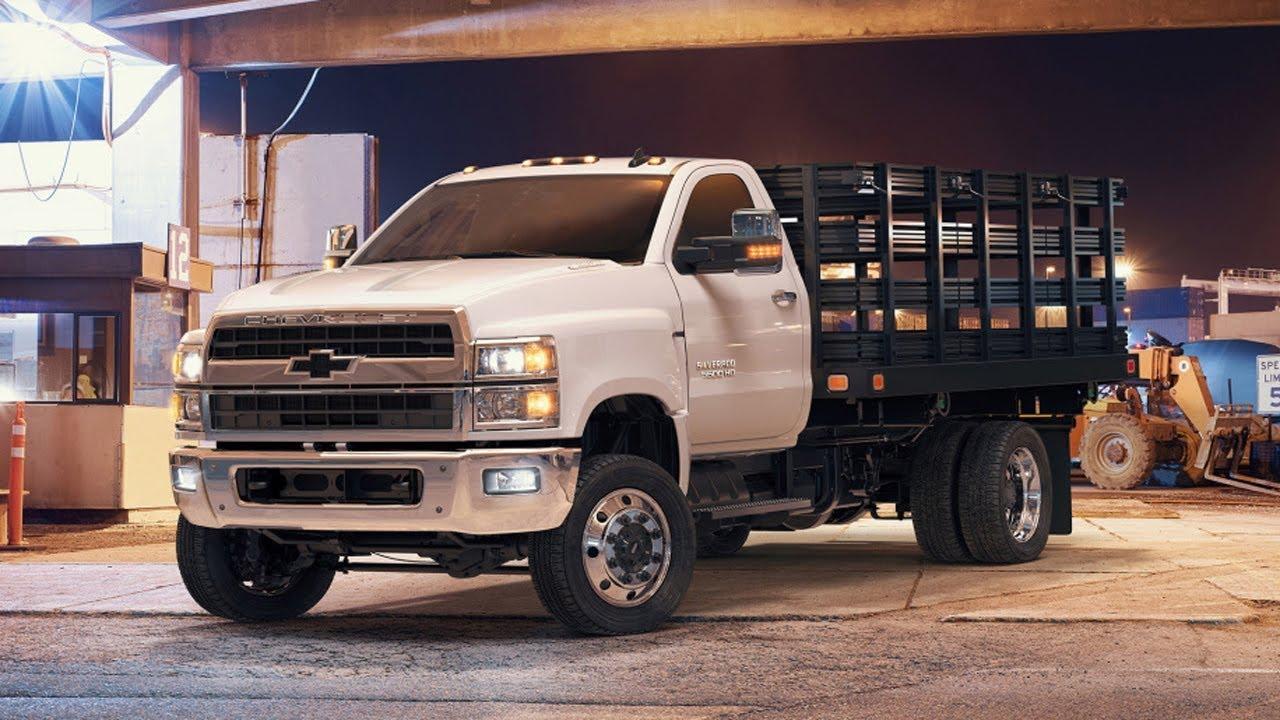 GM Introduces Range of Medium-Duty Silverado Trucks - YouTube