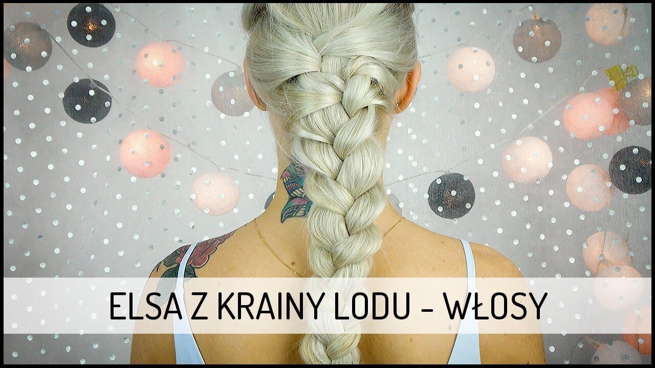 Elsa z Krainy Lodu – warkocz | DOMODI TV