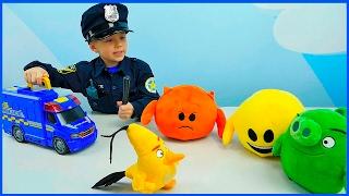 Полицейские Машинки и мальчик Полицейский Даник | Про Машинки для детей. Police Cars