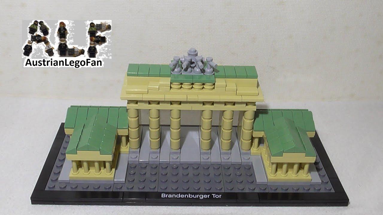 Lego Architecture Brandenburg Gate Brandenburger Tor Lego - Lego minecraft hauser