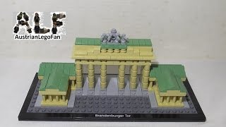 Lego Architecture 21011 Brandenburg Gate / Brandenburger Tor - Lego Speed Build Review