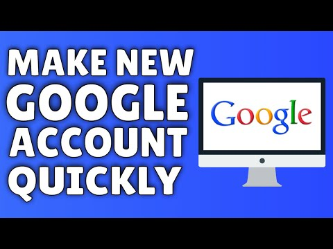 How To Make A Google Account | 2015