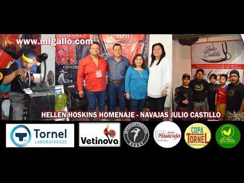HELLEN HOSKINS HOMENAJE - NAVAJAS JULIO CASTILLO