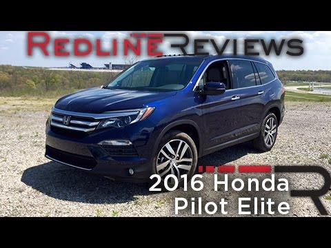 2016 Honda Pilot Elite Redline Review