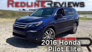 Redline Review: 2016 Honda Pilot Elite