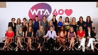 WTA 40 LOVE Story presented by Xerox | Episode 10: 2013 - 40th Anniversary of the WTA