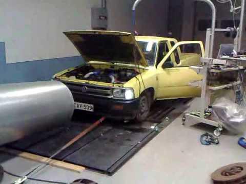VW Taro 2.4 Diesel Dyno 184hp