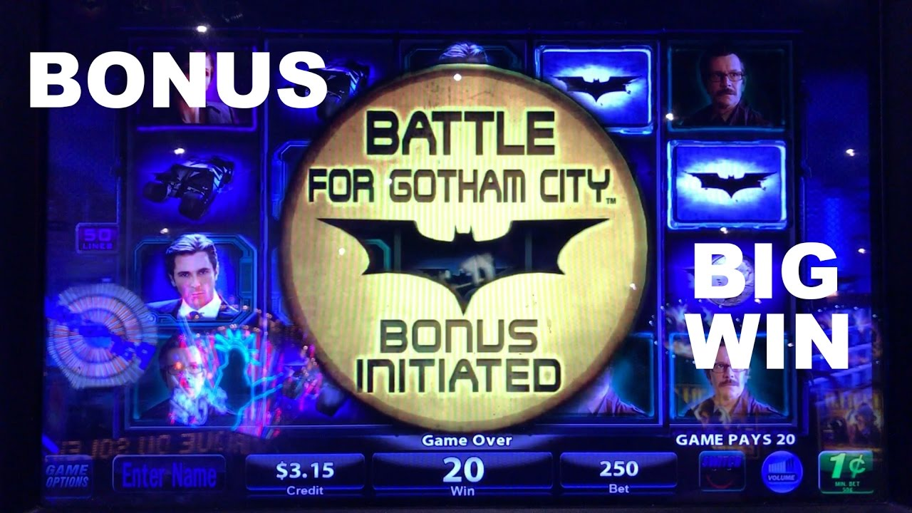 Batman slot machine locations casino la richelande saint galmier