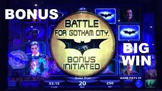 Download Video Batman The Dark Knight Live Play with BONUS and BIG WIN Slot Machine MP3 3GP MP4