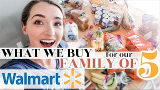 WEEKLY WALMART GROCERY HAUL!   What We Buy For Our Family Of Five   Seasonal Treats + Pumpkin Spice!