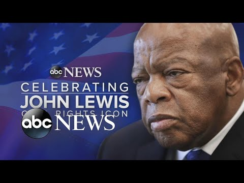 Late Rep. John Lewis arrives at US Capitol to lie in state