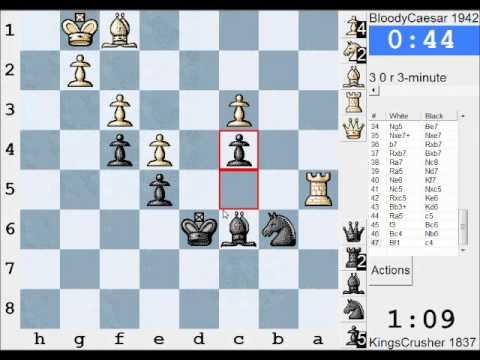 Chess World.net: LIVE Blitz #987 Vs BloodyCaesar (1942) - Valencia Opening (A00) (Chessworld.net)