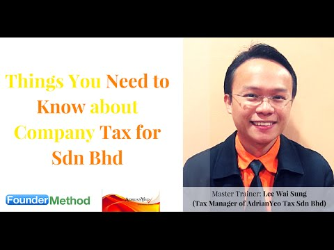 Company Tax For Sdn Bhd