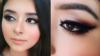 EID Day Make up with Lawn Dress, Eid Make up Look For Beginners Urdu Hindi