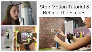 "STOP MOTION TUTORIAL- Filming a Stop Motion, Editing, and Behind The Scenes of ""The Visitor""!"