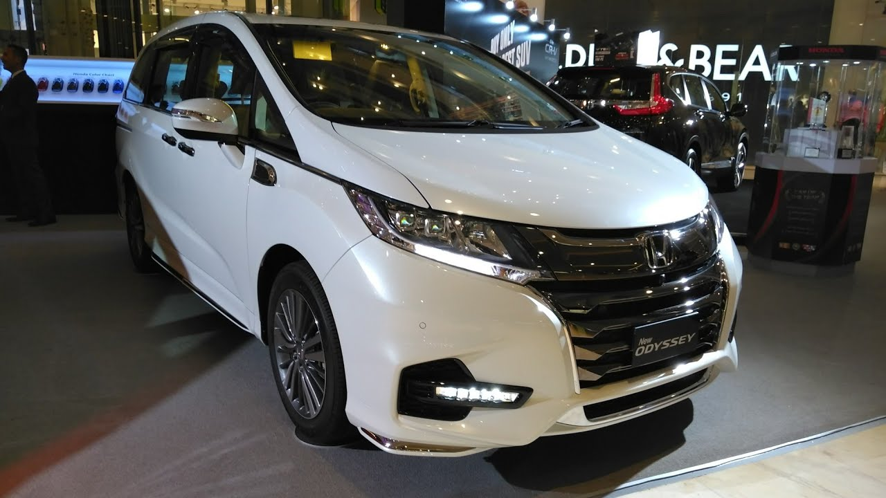 Honda New Odyssey 2018 Facelift First Impression Review Indonesia