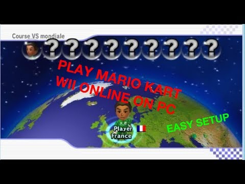 How to play Mario Kart Wii on PC using dolphin (use wiimmfi on dolphin  emulator) working 2017