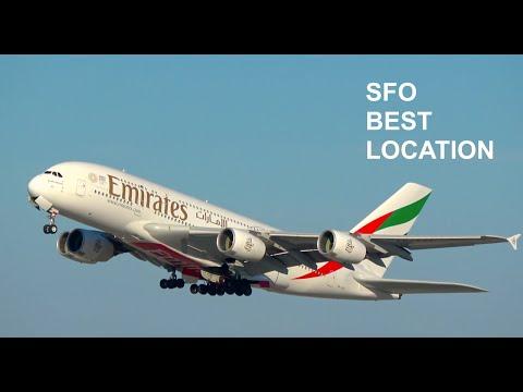 [4K] BEST Location Part 3 - Plane Spotting at San Francisco International Airport