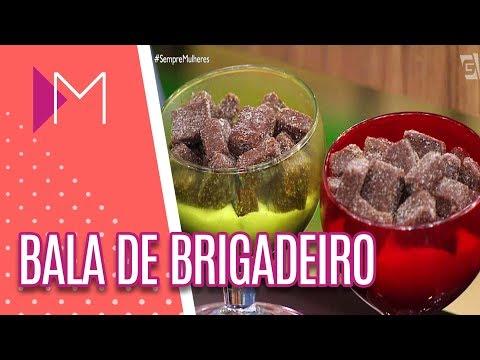 Bala de brigadeiro - Mulheres (24/05/18)