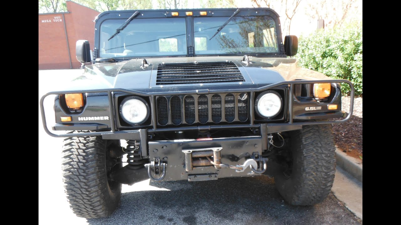 1997 Hummer H1 prepurchase inspection overview