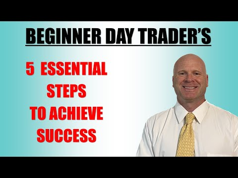 How to shorten a Beginner Day Traders learning curve, 5 Essential Steps