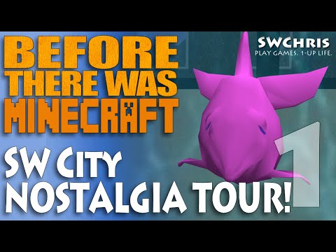 Active Worlds - Palais de Ferruccio - SW City Nostalgia Tour S1E1 (Before There Was Minecraft)